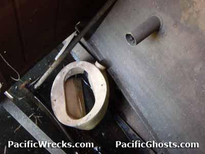 Pacific Wrecks - Toilets In World War II Aircraft Wrecks