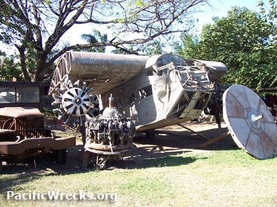 Pacific wrecks ford 5 at c trimotor serial number a45 1 for Ford tri motor crash