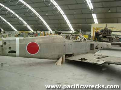 Pacific Wrecks - Ki-61-Ib Tony Manufacture Number 640