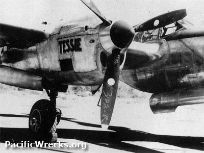 P 38 Lightning Propeller