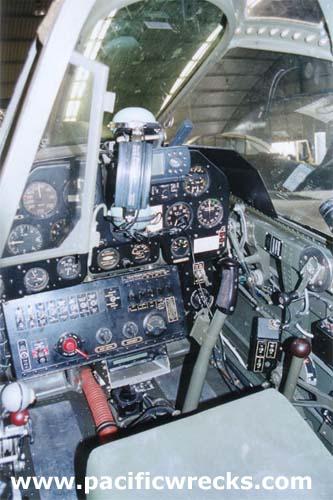 "P-40N ""Little Jeanne"" 42-105915 Cockpit at Precision Aerospace"