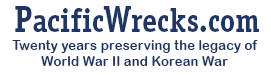 Pacific Wrecks - preserving the legacy of World War II and Korean War