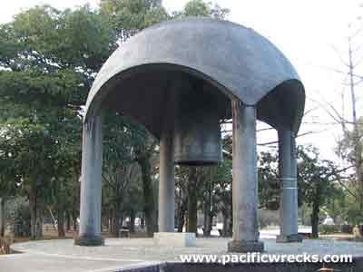 Pacific Wrecks - Peace Bell at Hiroshima