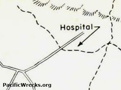 Map Of 117th Station Hospital Northeast Of Nadzab Credit Us Army Date Circa 1944