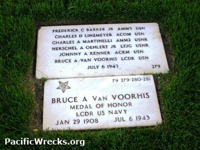 Pacific Wrecks - Jefferson Barracks Cemetery group burial