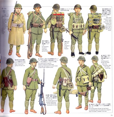 japanese military uniforms page 15 credit via japanese military ...