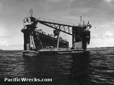 USN Ships--USS Mount Hood Explosion, 10 November 1944
