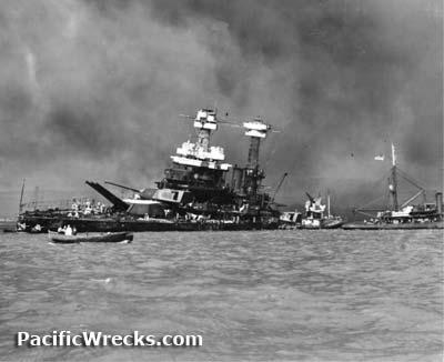 pacific wrecks uss california bb44