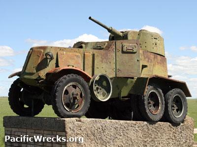 Pacificwrecks Ba 10 Armored Car Displayed At Sumber